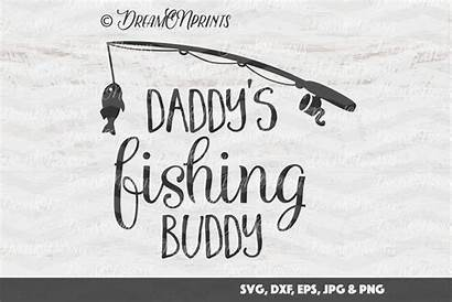 Fishing Svg Buddy Fish Pole Daddy Cut