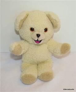 VTG Snuggle Teddy Bear Lever Brothers Fabric Softener 1986 ...