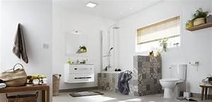 Salle De Bain Le Roy Merlin : une salle de bains au style vintage industriel leroy merlin ~ Melissatoandfro.com Idées de Décoration