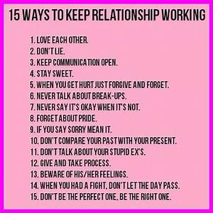 Making Work On Relationships Picture Quotes. QuotesGram