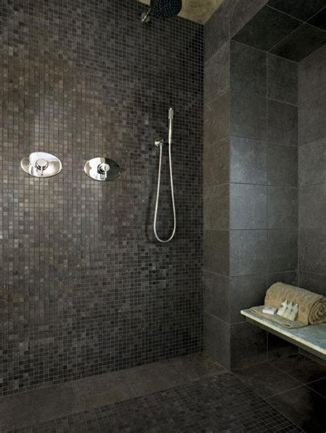 40 grey mosaic bathroom wall tiles ideas and pictures