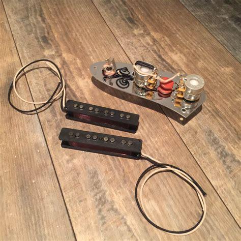fender jazz bass stack knob 62 wiring harness pickups reverb