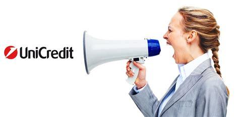 bt italia ufficio reclami guida per fare un reclamo ad unicredit