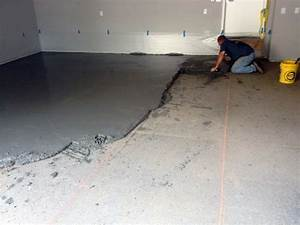 fixing a poorly sloped concrete floor for drainage With how to fix a sloping floor