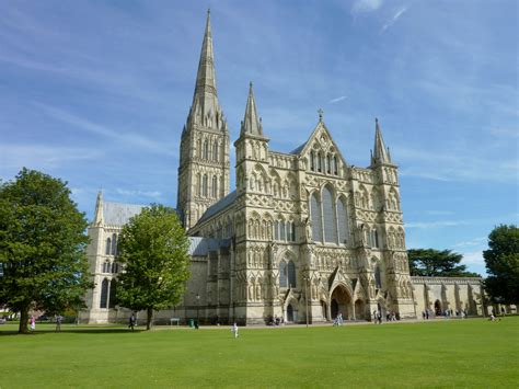 Salisbury Cathedral, Built In The Style Of Early English