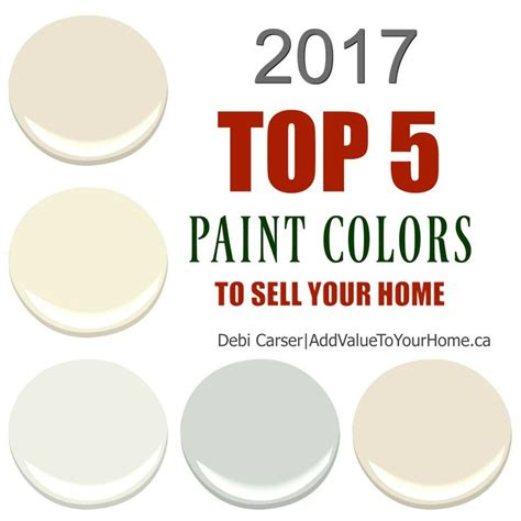top paint colors 2017 top 5 paint colors to sell your home find out what