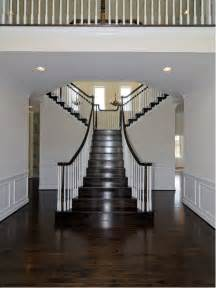 Best Type Of Flooring For Stairs by Stained Stairs Houzz