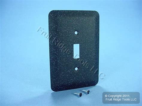 new leviton jumbo black granite metal decorative light