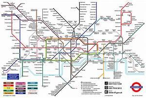 Londynu mapa