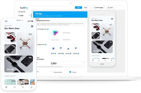 mobile app builder  ios  android app maker buildfire