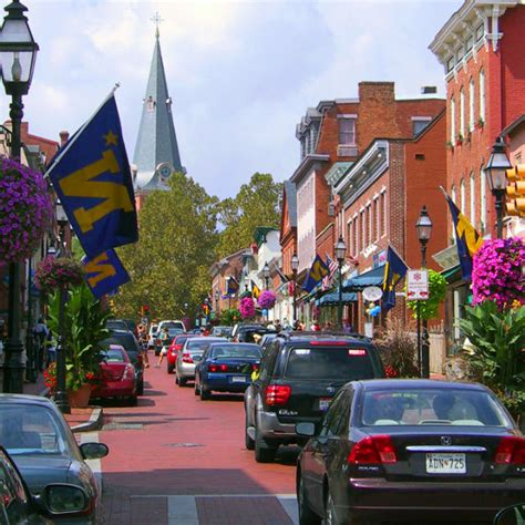 4 Self-Guided Walking Tours in Annapolis, Maryland ...