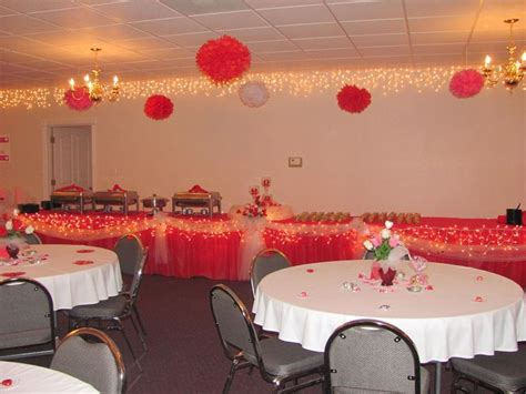 Decorating Ideas Church Banquet by I Used These Pom Pom S At Our Church Valentines Banquet