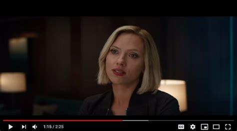 Avengers Endgame Theory Looks Black Widow Hair