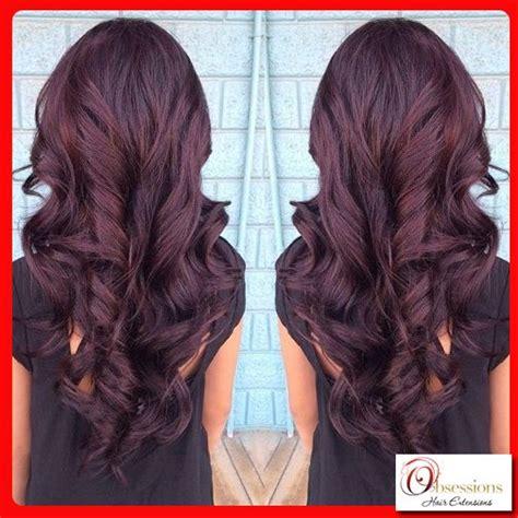 Violet Brown Hair On Pinterest Red Violet Hair Red Violet