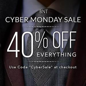 40  Off Everything For Cyber Monday With Promo Code