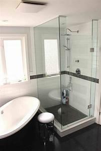 Bathroom, Design, Separate, Tub, And, Shower