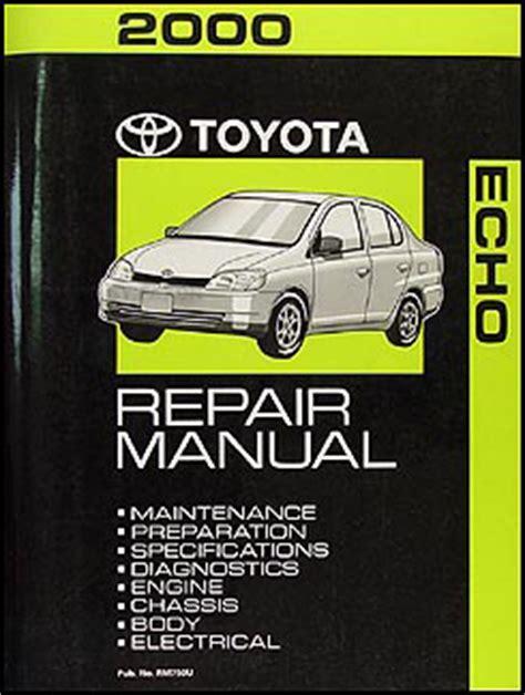 car repair manuals online free 2000 toyota echo seat position control 2000 toyota echo repair shop manual original