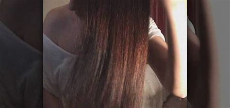 How to Straighten your hair without any heat at all