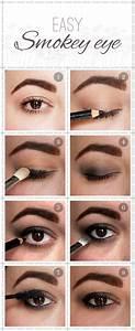 Maquillage Yeux Tuto : 1001 techniques et produits top pour r aliser un maquillage smoky ~ Nature-et-papiers.com Idées de Décoration