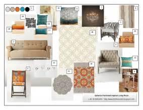 Mood Board Living Room Design