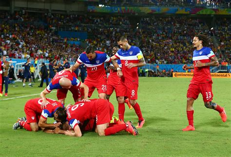 Final Usa Defeats Ghana 21 In World Cup  Usa Today
