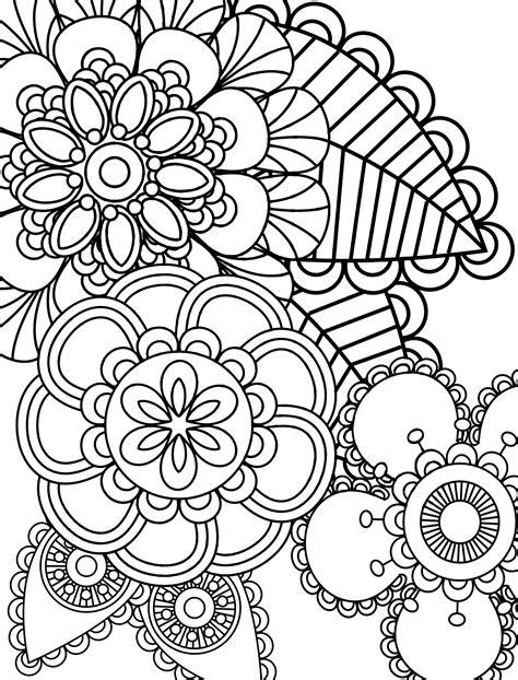 Kleurplaat Bedankt Bloemen by Kleurplaten Voor Volwassenen Levensster