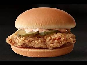 McDonald's NEW Classic Chicken Sandwich Review - YouTube