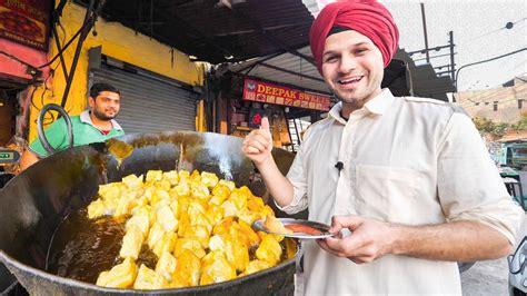 Indian Street Food Tour Deep In Punjab, India Best