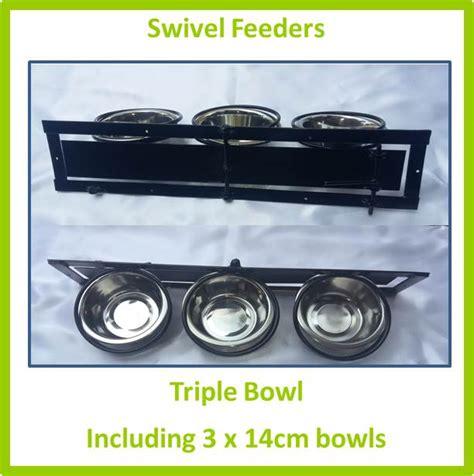 ref d037 swivel feeder triple 14cm mesh for birds