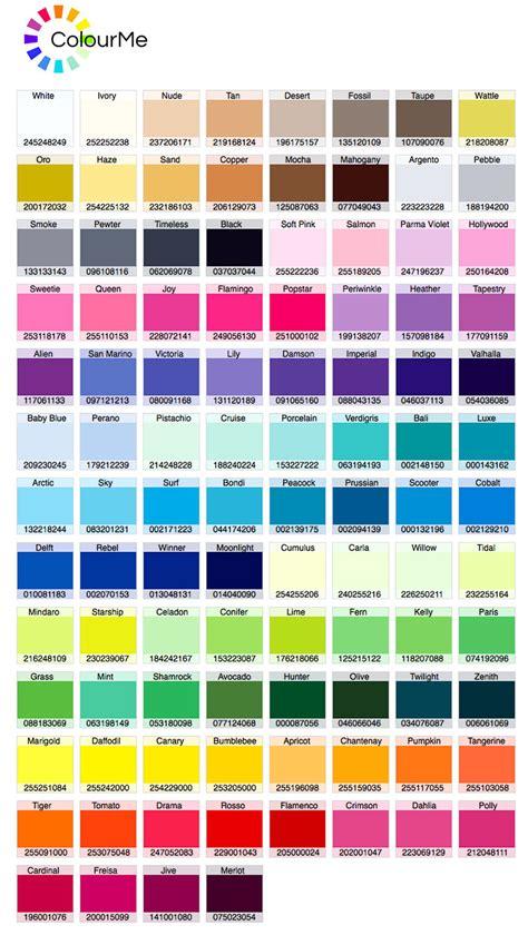 color palete friedmans colour palette