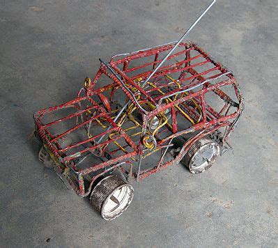 Wire Car by Made Out Of Wire And Wire