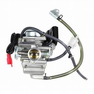Chinese Pd24j Carburetor - Electric Choke