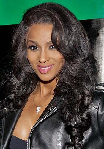 Ciara New Hairstyle by Ciara Hairstyle Flicked Waves 905 Www