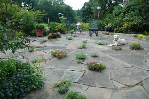 Backyard Patio Landscaping by Outdoor Patios In Chester County Naturescapes
