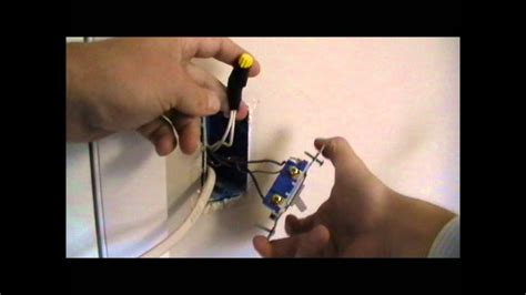 how to wire an outlet of a switch youtube