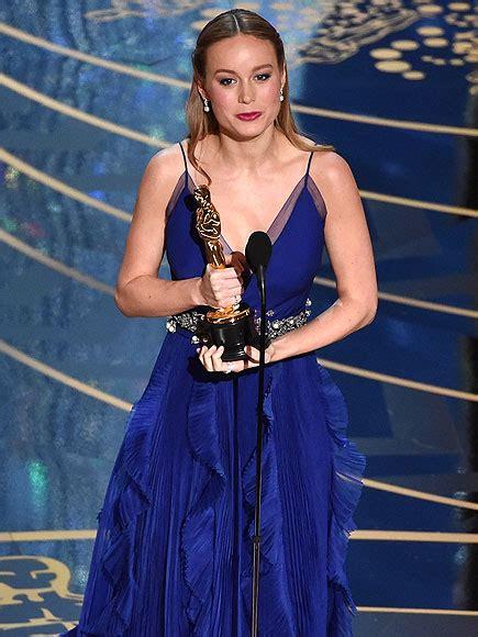 2016 oscar best actress oscars 2016 brie larson wins best actress for room