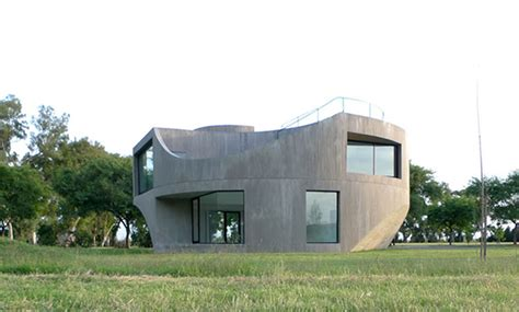 Modern Concrete Home Plans Design