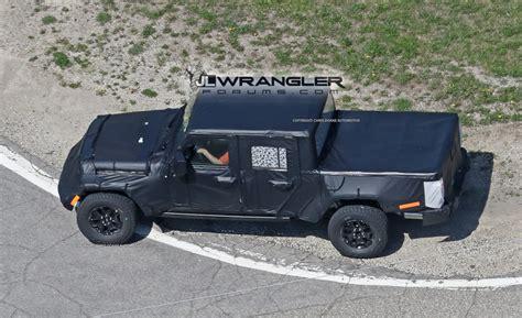 jeep wrangler pickup jeep wrangler pickup truck jt spy pics 2018 jeep