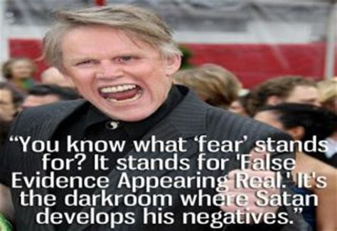 Gary Busey Quotes Awesome Quotes From Gary Busey Gallery Ebaum S World