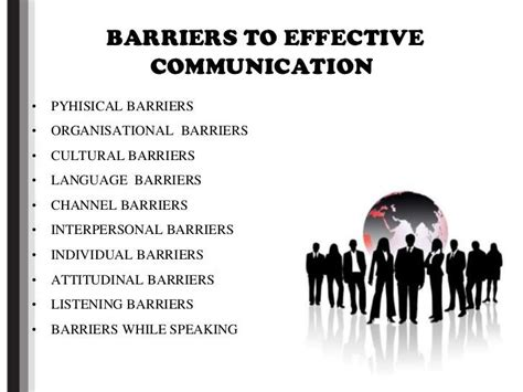 barriers listed     environment