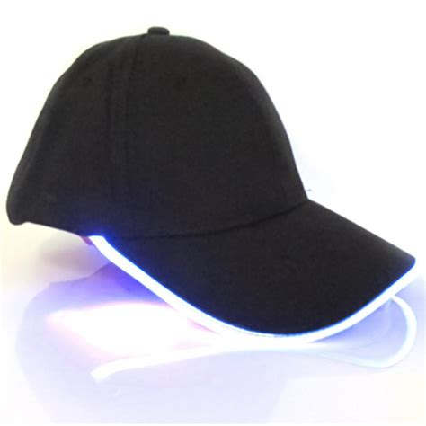 light up hats new fashion glow in light up led hat baseball caps