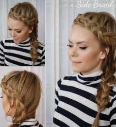 Side Dutch Braid Hair Tutorial