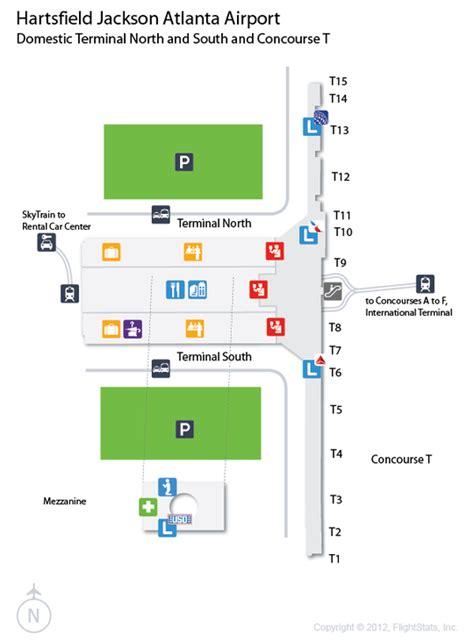 28 atlanta airport map atlanta airline terminal map