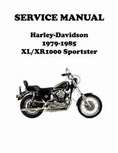 1979 Xr 1000 Sportster Ironhead Service Manual