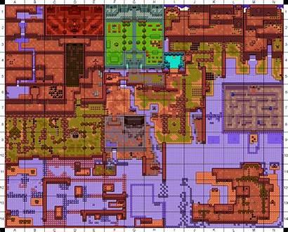 Past Zelda Oracle Legend Ages Map Maps