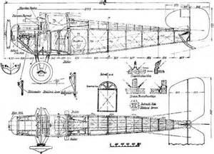 WW1 Aircraft Plans Blueprints