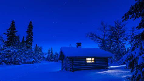 americas iconic log cabin   dark  dirty side