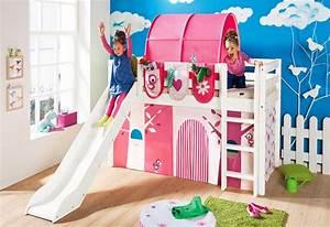 Hochbett Kinder Mit Rutsche : kinderbett tunnel trendy hochbett spielbett kinderbett rutsche turm vorhang lila schloss x ~ Indierocktalk.com Haus und Dekorationen