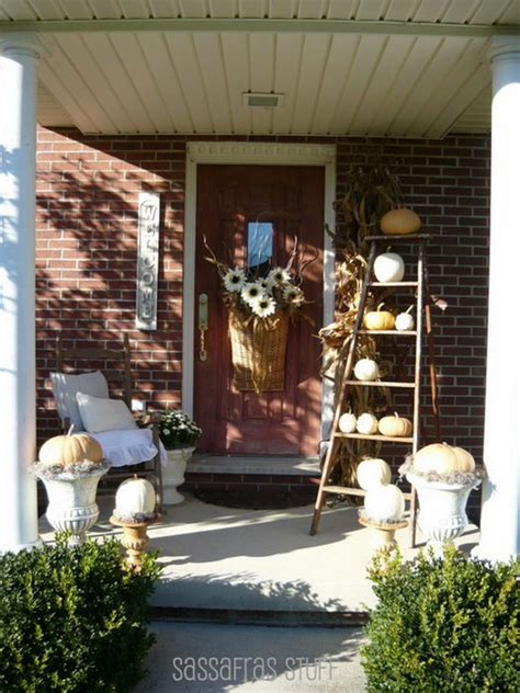 Outdoor Decorating Ideas Front Porch by 22 Fall Front Porch Ideas Veranda Home Stories A To Z
