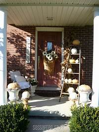 front porch decorating ideas 22 Fall Front Porch Ideas {veranda}